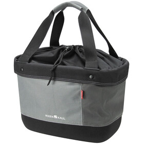 KlickFix Shopper Alingo Bike Bag grey